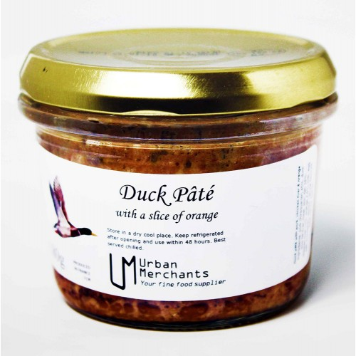 Duck Pâté with a slice of Orange 180g