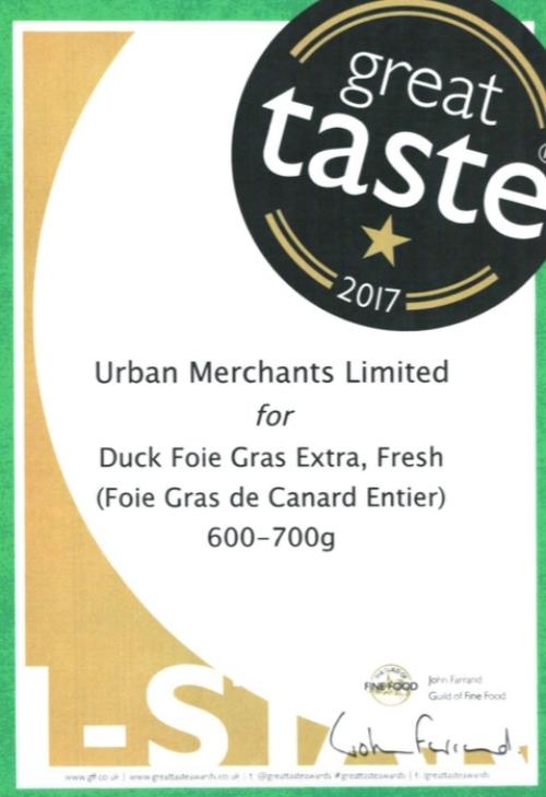 Duck Foie Gras Great Taste