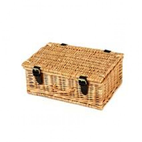 Hamper: 12 Inch Hand Made Wicker (6 - 8 items)