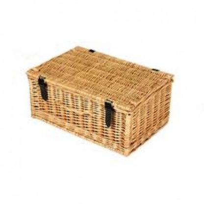 Hamper: 18 Inch Hand Made Wicker (9 - 10 items)