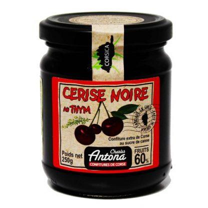 Jam: Black Cherry and Thyme 250g