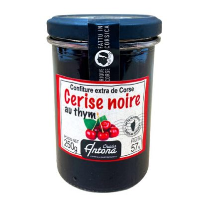 Cherry and Thyme Jam from Corsica