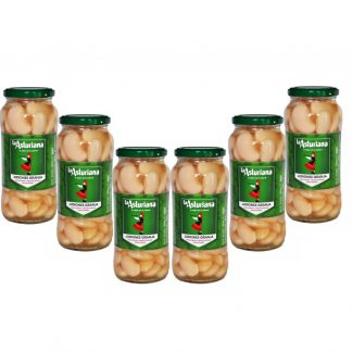 Spanish Cooked Giant Butter Beans: Judiones Granja 570g x6