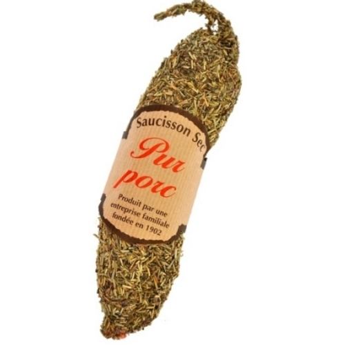 Pur Pork Saucisson Sec with Herb de Provence from the Savoie 210g