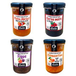 Selection of Corsican Jams