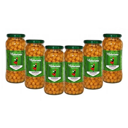 6 Jars of Garbanzos or Spanish Cooked Chickpeas