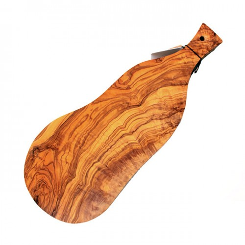 Small Charcuterie and Cheese Plank with Handle ( Olive Wood Board )