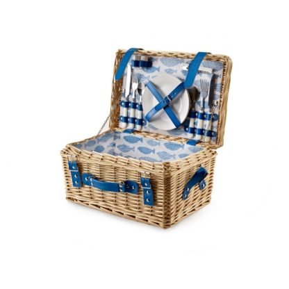 Picnic Hamper: 2 Person 'Ocean' Fitted