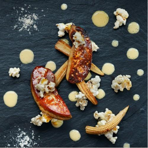 Foie Gras Popcorn