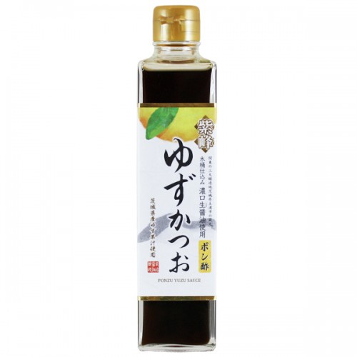 Ponzu Sauce: Yuzu & Katsou Bonito 300ml