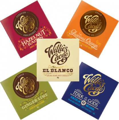 Willie's Cacao Chocolate Tasting Selection 250g