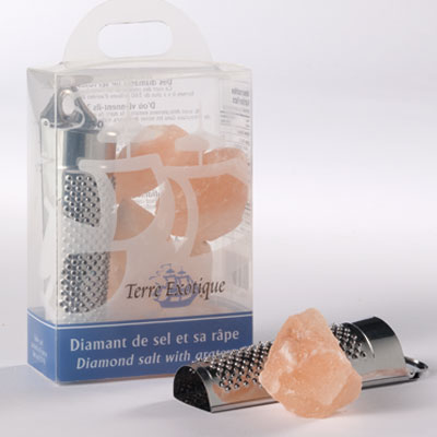 Himalayan Pink Salt with Grater 400g