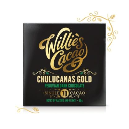 Willie's Chulucanas Gold Chocolate 80g