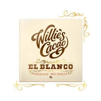 Willie's White chocolate 50g