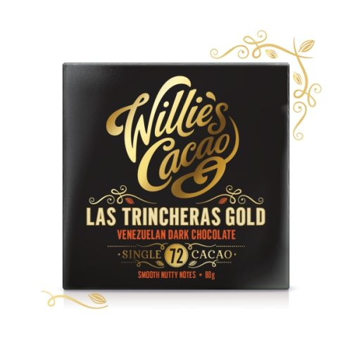 Willie's Venezuelan Gold Chocolate 80g (Las Trincheras)