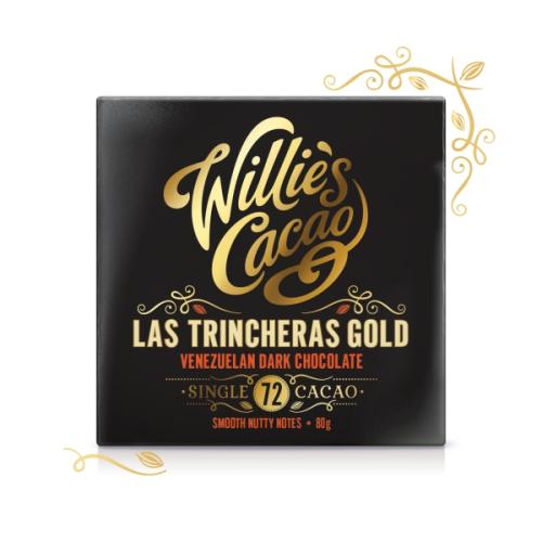 Willie's Venezuelan Gold Chocolate 80g (Las Trincheras)