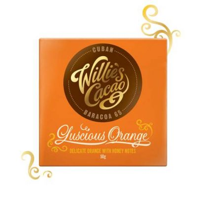 Willie's Cuban Orange chocolate 50g
