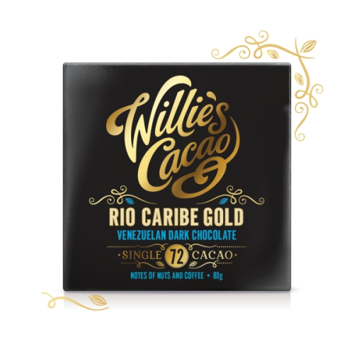 Willie's Venezuelan Gold Chocolate 80g (Rio Caribe)