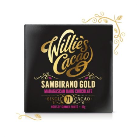 Willie's Sambirano Gold chocolate 80g