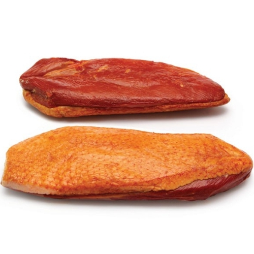 Whole Smoked & Cooked Duck Breast 2x, +/- 375g