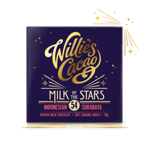 Willie's Milk Of Star Chocolate 50g