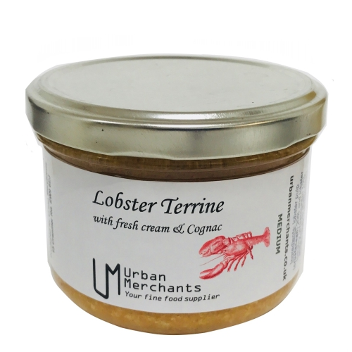 Lobster terrine with fresh cream and Cognac 180g