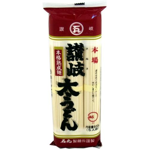 Thick Udon Noodles (Sanuki Futo Udon) 500g