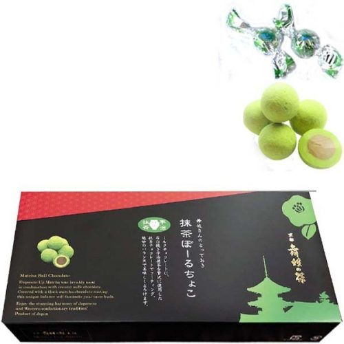 Japanese 'MAIKO TEA' Matcha ball Chocolate, 120g