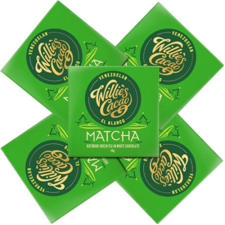 Willie's Matcha White Chocolate 250g
