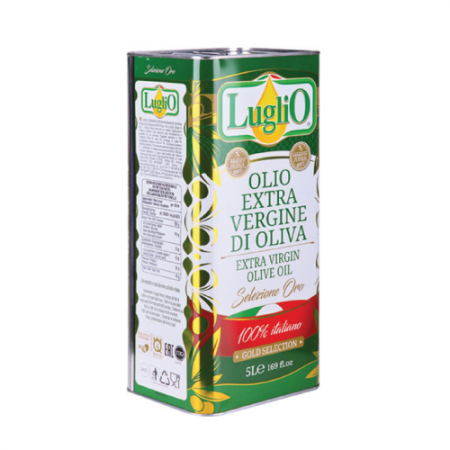 100% Italian Extra Virgin Olive Oil, Luglio Selezione Oro , 5L