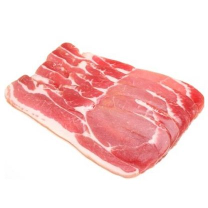 Smoked Rindless Back Bacon, Butchers Choice 2.25kg