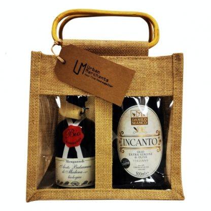 Extra virgin olive oil & Balsamic vinegar gift pack