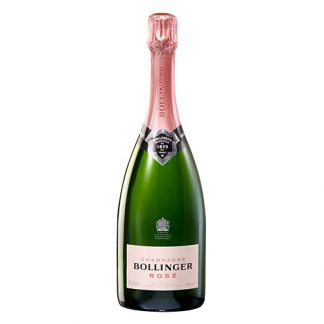A bottle of Bollinger Rosé NV Champagne