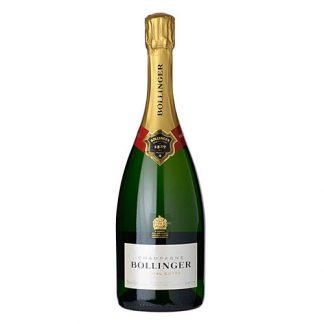 A bottle of Bollinger Spécial Cuvée, NV Champagne
