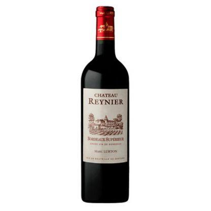 A bottle of Château Reynier, Bordeaux Superieur from Bordeaux in France