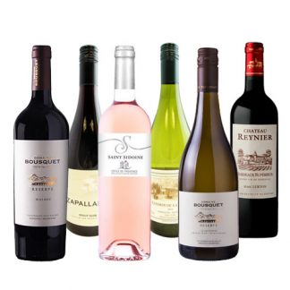 White, red and rose wines from our Discovery Wine Box