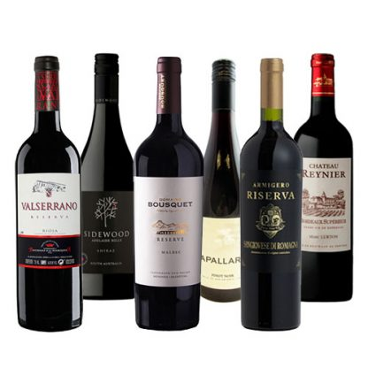 Six gorgeous red wines from Urban Merchant's Favourite Reds Wine Box