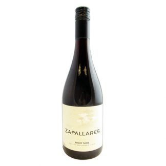 A bottle of Pinot Noir Reserva, Zapallares from San Antonio in Chile