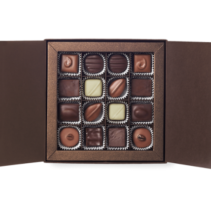 Amedei Le Praline 16 – Non-Alcoholic Box of Assorted Chocolates