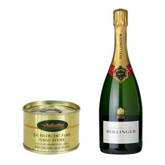 Bollinger Special Cuvee and Goose Foie Gras Block 130g