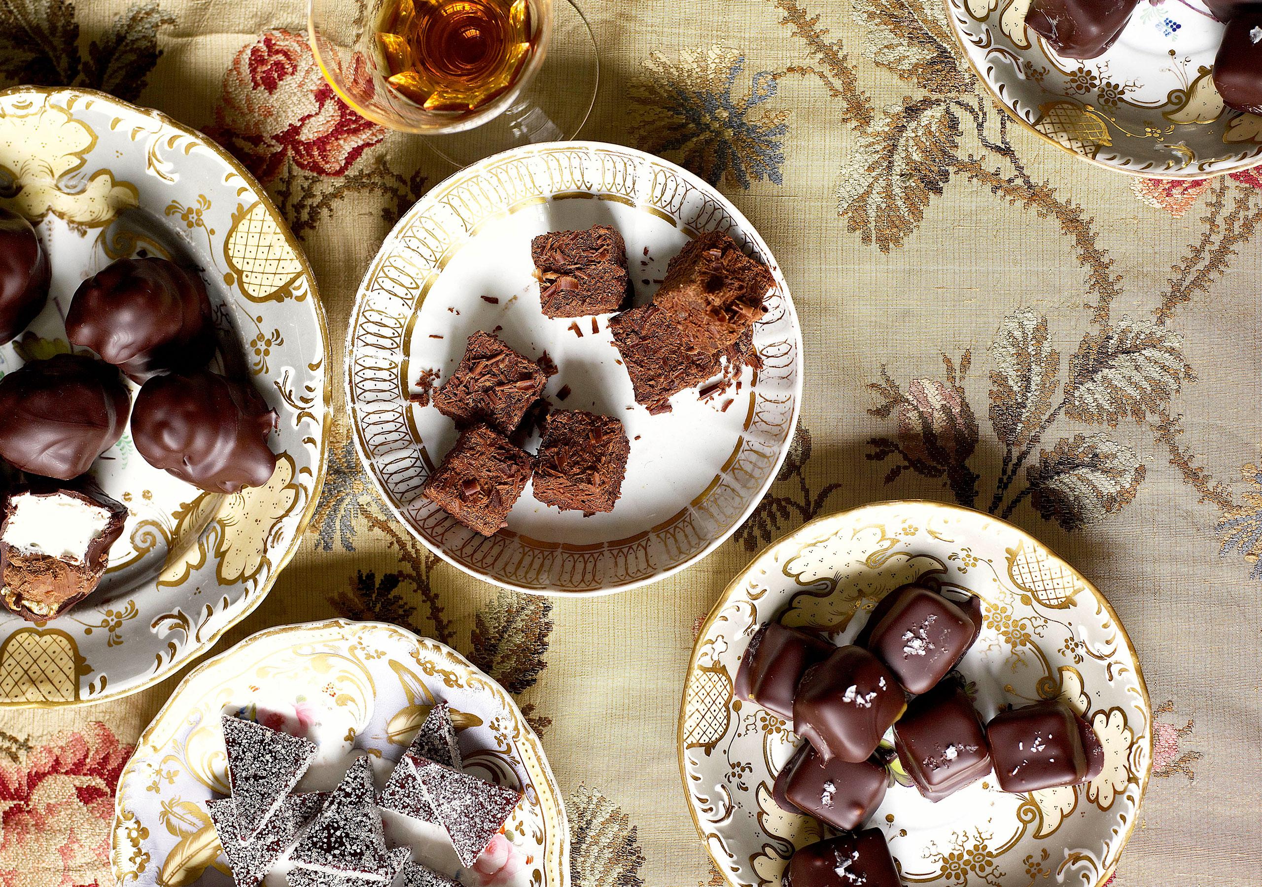 Sea Salt and Pickled Lemon Chocolate Caramels