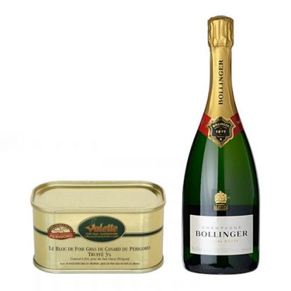 Bollinger Special Cuvée and Duck Foie Gras with Périgord Truffle
