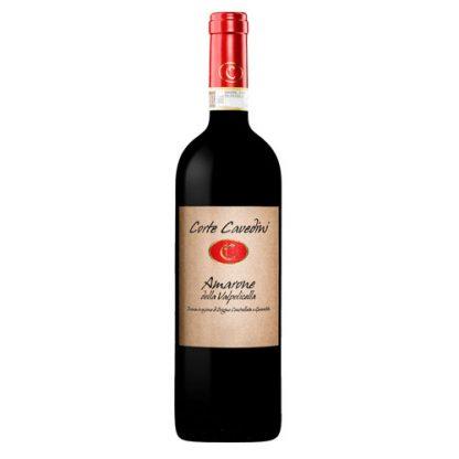 A bottle of Amarone Della Valpolicella 2014