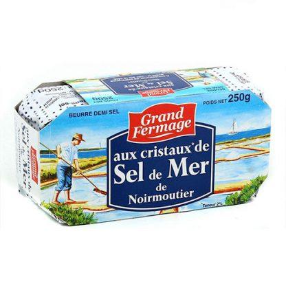 Noirmoutier Sea Salt Butter from Normandy