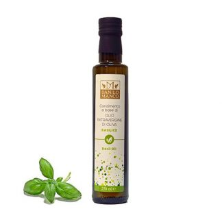 A Bottle of Basil Extra Virgin Olive Oil, 250ML