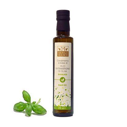 A Bottle of Basil Extra Virgin Olive Oil, 250ML