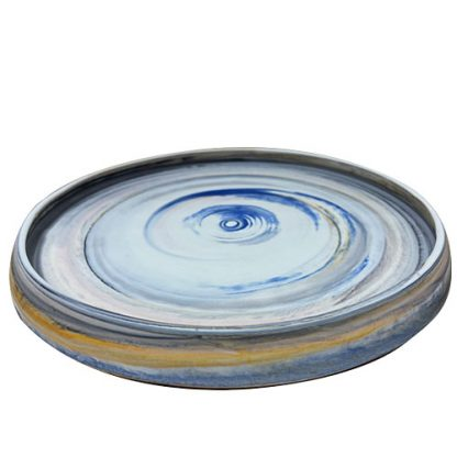 Contemporary Small Ceramic Plate
