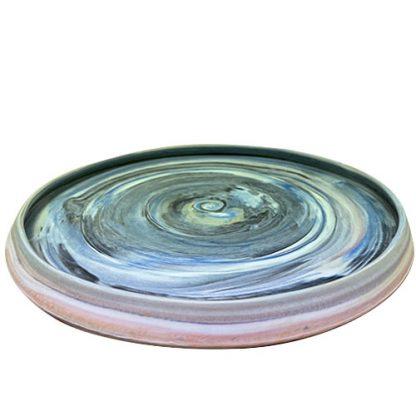 Contemporary Large Ceramic Plate