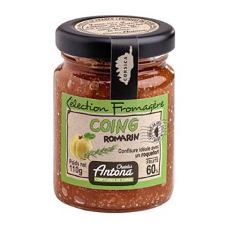 Quince and Rosemary Jam is the perfect accompaniment for a cheese board