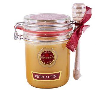 Alpine Flower Honey with Drizzler, 400g